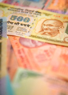 Indian Rupees --- Image by © Imagemore Co., Ltd./Corbis