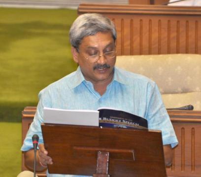 parrikar budget speech -ARTICLE