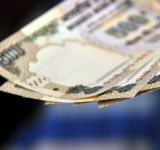 500 India rupee notes.