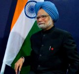 12 Mar 2010 --- ITAR-TASS 99: NEW DELHI, INDIA. MARCH 12, 2010. Indian PM Manmohan Singh. (Photo ITAR-TASS / Maxim Shemetov) --- Image by © Shemetov Maxim/ITAR-TASS Photo/Corbis