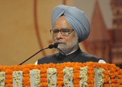 The Prime Minister, Dr. Manmohan Singh addressing the concluding function of the Sesquicentennial celebrations of the Bombay High Court in Mumbai on August 18, 2012.