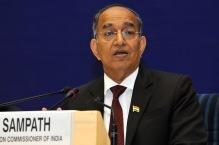 Chief Election Commissioner V S Sampath