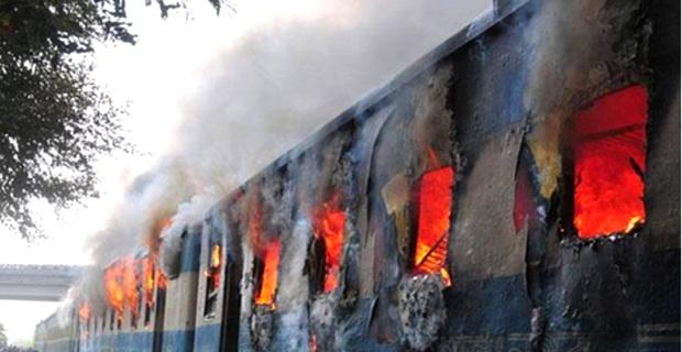 train-burning